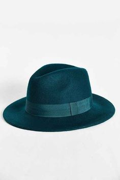2bc8884c8f94e teal (or blue) fedora    urban outfitters