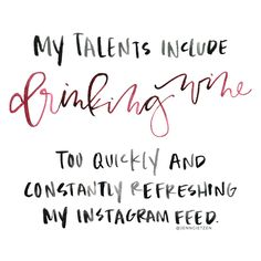 #HandLettering by Jenn Gietzen of Write On! Design // #WriteOnDesign #wine