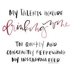 #HandLettering by Jenn Gietzen of Write On! Design // #WriteOnDesign #wine