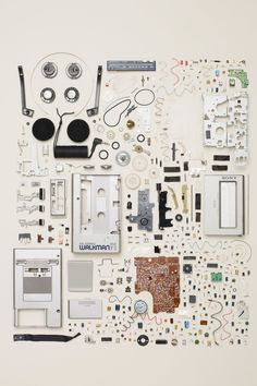 10 Everyday Objects That Have Been Artfully Disassembled