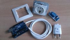 Arduino uno, One relay module, Wall socket High voltage cable, power supply for arduino AC to DC 9V 1.5A