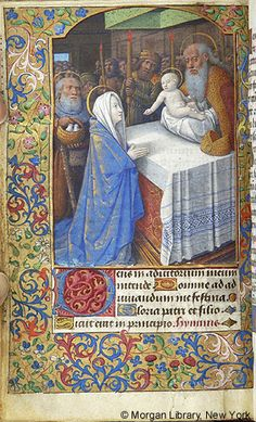 Book of Hours, MS M.380 fol. 61r - Images from Medieval and Renaissance Manuscripts - The Morgan Library & Museum