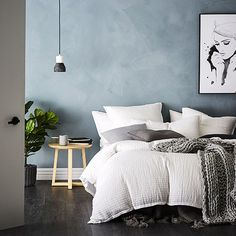 Home Republic - Loft White Quilt Cover - Bedroom - Quilt Covers & Coverlets - Adairs Online