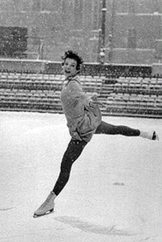 Tenley Albright (Olympic skater 1956)...stealing her name