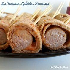 Galettes bretonnes Saucisses Apéritives