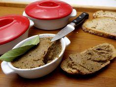 Pâté végétal aux châtaignes Vegan Pate, Banana Bread, Simple, Cooking, Desserts, Food, Ratatouille, Cardio, Slim