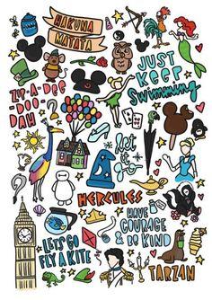 ideas drawing ideas disney collage for 2019 Disney Diy, Disney Pixar, Deco Disney, Disney And Dreamworks, Disney Films, Disney Trips, Disney Love, Disney Magic, Walt Disney