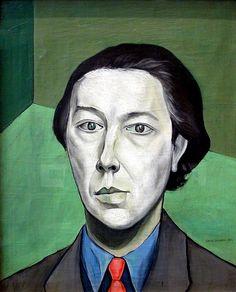 Victor Brauner, Portrait of André Breton, 1934