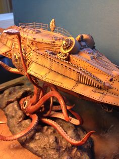 Nautilus completed Sci Fi Models, Lego Models, Nautilus Submarine, Nemo, Pontoon Boats, Leagues Under The Sea, Sea Crafts, Classic Horror Movies, Navy Ships