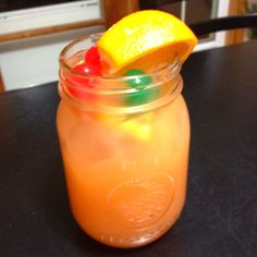 "This is soooo yummy! What we like to call ""Hillbilly Comfort Juice"""