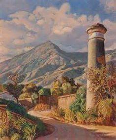 "Venezuela. Manuel Cabre ""View of Pico Naiguata""  1962"