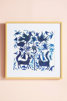 Shop the Otomi Blue Wall Art and more Anthropologie at Anthropologie today. Read customer reviews, discover product details and more.