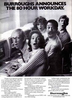 The ultimate collection of old computer ads. I think the sexy Bill Gates one is my favorite.
