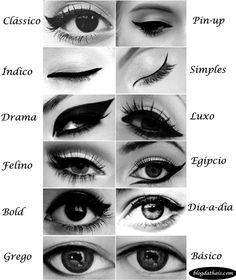 How to perfect winged eyeliner? Easy tips for winged eyeliner look! « Beauty MY Eyeliner Make-up, Eyeliner Styles, Eyebrow Makeup, Skin Makeup, Makeup Brushes, Beauty Makeup, Eyeliner Brands, How To Do Winged Eyeliner, Applying Eyeliner