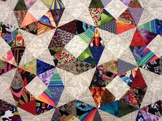 Scrappy Circles - close   Some very colorful scrappy triangl…   Flickr
