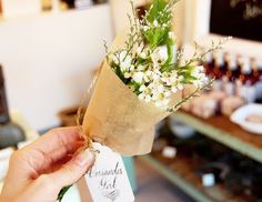 dress, design & decor: {coriander girl} a charming flower shop...