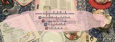Cafezinho da Tarde | Criando uma agenda :)