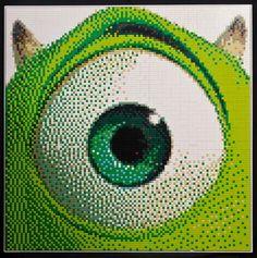 Animated Movie Character LEGO Mosaics by Ryan McNaught (4)
