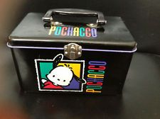 "ORIGINAL SANRIO POCHACCO METAL BOX 7.5"" X 4.5"" X 4.5"" Pochacco, Metal Box, Sanrio, Paradise, Lunch Box, Models, The Originals, Ebay, Templates"