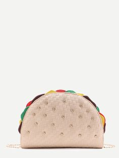 Taco Shaped Bag with Chain Sandwich Bags 083cffe8c754d