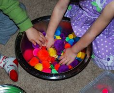 How to Start Developing Math Skills in Your Preschooler And Even Your Toddler!  Tips and Research on Why Sorting is Important