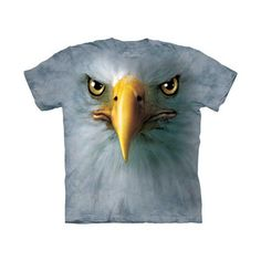 Eagle Face T-Shirt, 19€, now featured on Fab.