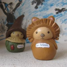 The Cowardly Lion by humblebea, via Flickr