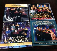 Check out this item in my Etsy shop https://www.etsy.com/listing/482812309/retro-estate-lot-of-4-star-trek-voyager