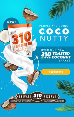 Our Toasted Coconut meal replacement shake has a lightly sweet and nutty flavor reminiscent of an island get-away. Shop the plant-based protein powder here! Best Weight Loss Shakes, Healthy Life, Healthy Living, Meal Replacement Shakes, Plant Based Protein, Protein Sources, Toasted Coconut, Guilt Free, Health Diet