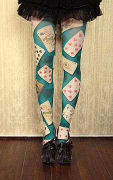 8d9275381 card tights Halloween Costumes For Teens Girls
