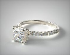 Design your own engagement ring with loose diamonds, fancy colored diamonds or gemstones in HD. See preset engagement rings, wedding rings and diamond jewelry. Princess Cut Engagement Rings, Engagement Ring Styles, Designer Engagement Rings, Rose Gold Engagement Ring, Diamond Wedding Rings, Bridal Rings, Vintage Engagement Rings, Diamond Rings, Solitaire Diamond