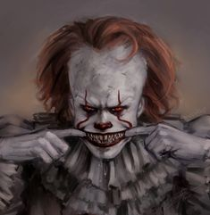 SHARP TEETH PENNYWISE .