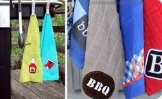 40 Homemade Christmas Gift Ideas for Men BBQ Worthy Hanging Towels and lots of other homemade gift i 40 Diy Christmas Gifts, 40 Diy Gifts, Homemade Gifts For Men, Creative Gifts, Cute Gifts, Gifts For Dad, Handmade Gifts, Homemade Bbq, Personalised Gifts For Him