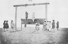 Old India Photos - Unknown freedom fighters hanged