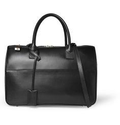 Saint Laurent Leather Holdall Bag | MR PORTER