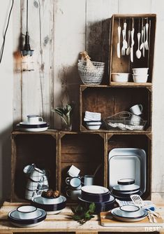 Love crate storage idea, easily accessible (try any antique store), also excellent vinyl storage option.