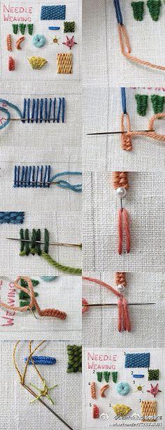 DIY绣法 - 堆糖 发现生活_收集美好_分享图片
