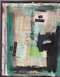 Art Journal January 2009 by Hold Dear, via Flickr