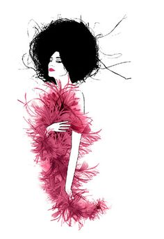 GLAMOUR MAGAZINE GERMANY - TIME FOR LOVE OF MY LIFE by LUIS TINOCO - ILLUSTRATOR, via Flickr