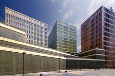 Ciutat de la Justicia    designed by David Chipperfield. Barcelona