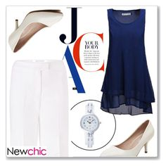 """""""NewChic 24"""" by abecic ❤ liked on Polyvore featuring Diane Von Furstenberg and newchic"""