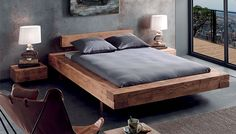 70 Best Minimalist Bedroom Design You Must Try Bed Frame Design, Bedroom Bed Design, Bedroom Furniture Design, Modern Bedroom Design, Bed Furniture, Home Bedroom, Furniture Outlet, Discount Furniture, King Size Bed Designs