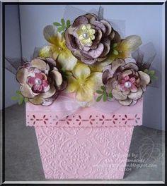 apw -My very first flower pot card.