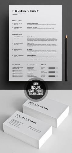 Simple and Clean Resume CV Template Simple Cv Template, Cv Resume Template, Best Resume Template, Cv Design Template, Simple Resume Examples, Resume Writing Examples, Graphic Designer Resume, Graphic Design Cv, Resume Layout