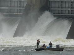 Guntersville Dam, Tennessee River, Marshall County, Alabama