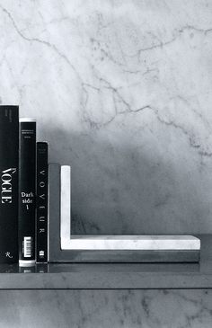 (wh)ORE HAüS | marble bookends
