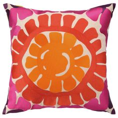 eb7bc3fafaf3 Trina Turk La Jolla Pink Pillow @Zinc_Door #zincdoor #trinaturk  #accessories Orange Throw