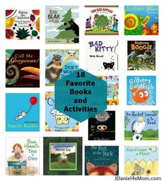 18 favorite books and activities to go with them from @Jennifer Milsaps L Daniel FoursMom  .