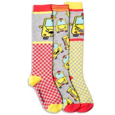 #NYC taxi-themed socks for kiddos from @LittleMissMatch. Too cute!