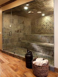 An in-home steam room can be the ultimate luxury, with pore-opening moist heat that relaxes the muscles and the mind.